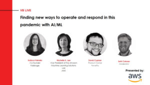 Webcast: Finding new ways to operate and respond in this pandemic with AI/ML